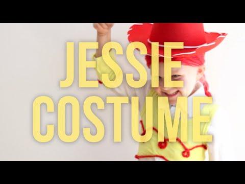 Toy Story Jessie - Homemade No Sew Halloween Costume