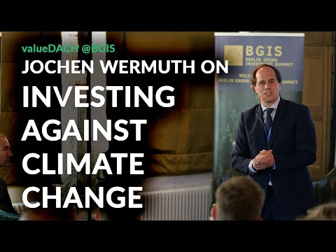 Make money, do good and have fun? Jochen Wermuth opens the Berlin Green Investment Summit