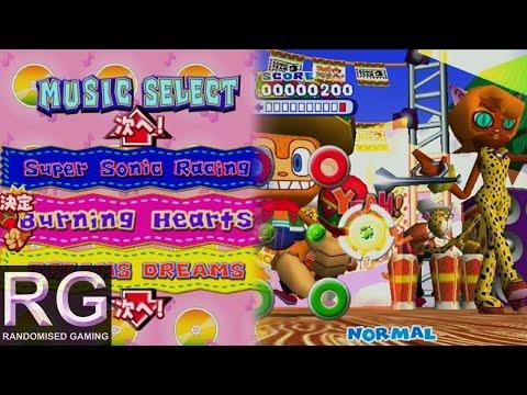 Samba de Amigo Ver. 2000 - Song - Burning Rangers : Burning Hearts [HD 1080p 60fps]