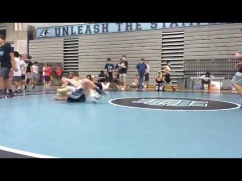 Brock Rodrigues (Clovis) VS Ethan Leake (Buchanan)