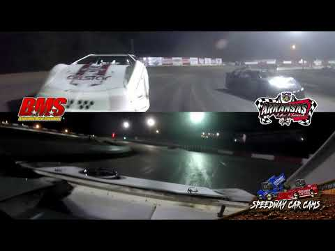 #HR0 Heath Minor - Kajun Mini Stock - 9-14-18 Batesville Motor Speedway - In Car Camera