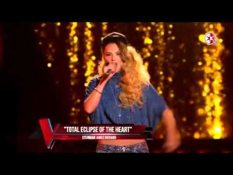 MJ (Melissa Jiménez) - Total Eclipse Of The Heart -  La voz México 2016