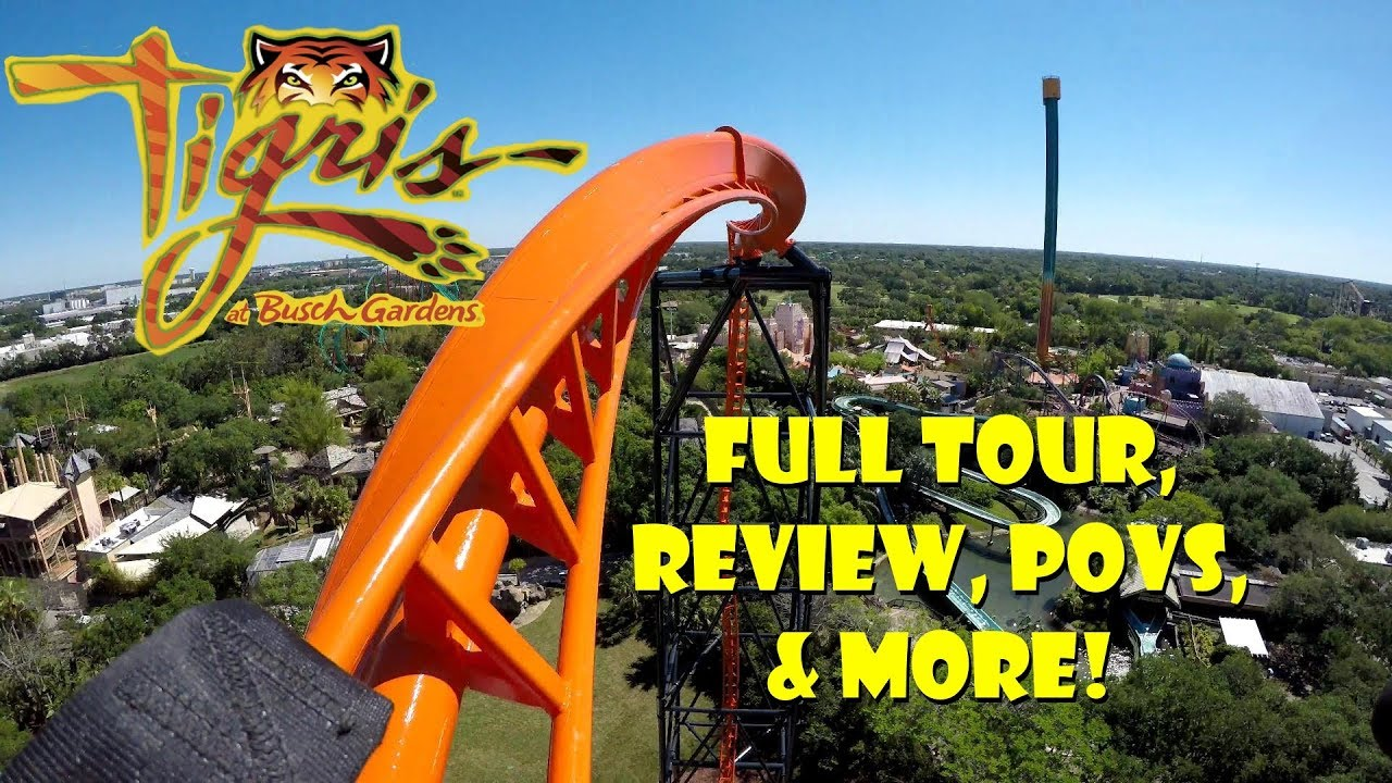 First Look:  Tigris at Busch Gardens Tampa Bay Complete Ride Tour, Review, POVS, & More!