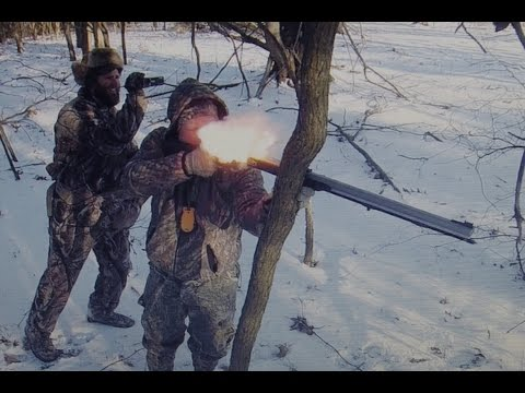 2015 PA Flintlock Muzzleloader Hunt With Kill Shots/Misses/Flashback Clips!  Non-Stop Action!