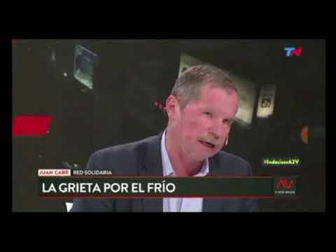 Juan Carr respondió las críticas por la noche solidaria en River