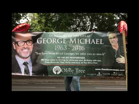 George Michael's Birthday celebration in Goring June 2017 by the George Michael Legacy Project