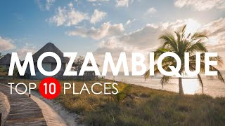 Top 10 Beautiful Places to Visit in Mozambique - Mozambique Travel Video