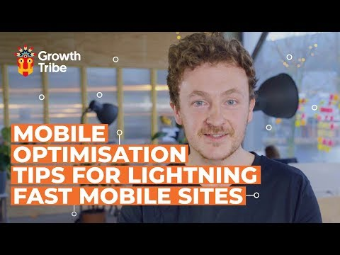 Mobile Optimisation Tips for Lightning-Fast Mobile Sites - Mobile First - Part 1