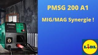 Synergická svářečka z LIDLu - PMSG 200 A1