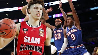LaMelo Ball Wins Rookie Of The Year & The Knicks Are Looking To Secure Him in 2020 NBA Draft