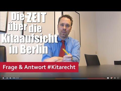 Kitarecht Folge 175: Die ZEIT über die Kitaaufsicht in Berlin