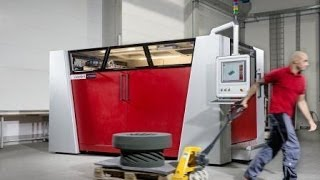 Large format industrial 3D printer, the VX2000