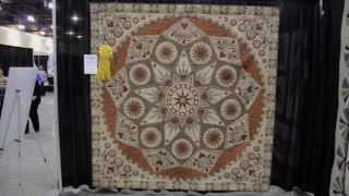Joyce Triezenberg - 3rd - Bed Quilts - Innovative - Aqs Quiltweek - Phoenix 2014