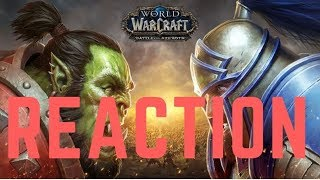 World of Warcraft: Battle for Azeroth Cinematic Trailer (Reaction)