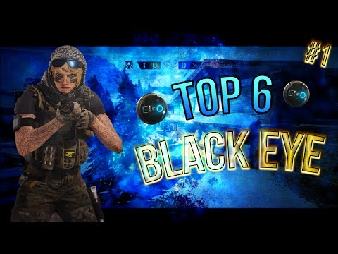 TOP 6 BLACK EYE DI VALKYRIE IN MAPPA CHALET E BARTLETT UNIVERSITY  - RAINBOW SIX SIEGE ITA