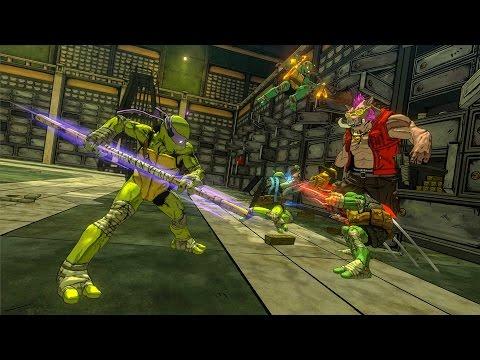 Teenage Mutant Ninja Turtles: Mutants in Manhattan Gameplay Trailer