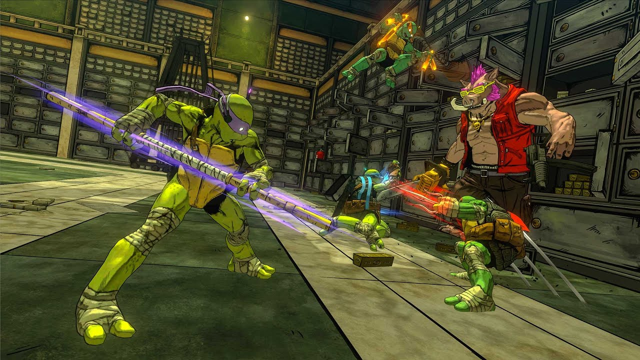 The new TMNT game feels like a proper successor to arcade
