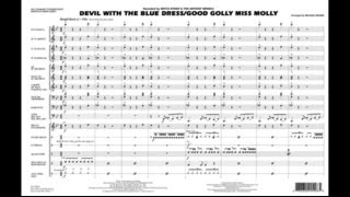 Devil with the Blue Dress On/Good Golly Miss Molly arr. Brown