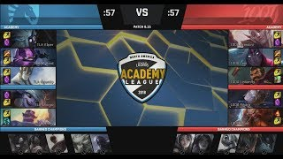[NB] TLA (V1per Kennen) VS 100A (Levi Graves) Highlights - 2018 NA Academy Summer W8