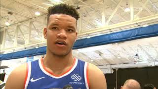 What Kevin Knox Has Been Working on Ahead of Knicks Training Camp