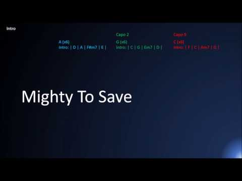 Mighty To Save Lyrics Chords Mp3 Free Songs Download Top Music