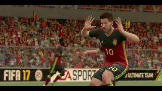 FIFA17でベルギー対イングランド