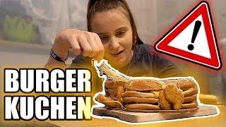 XXL Cheeseburger Kuchen / EXTRA viel Käse !  - Celina