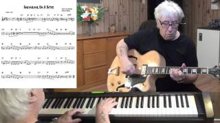 Swinging On A Star - Jazz guitar & piano cover ( Jimmy Van Heusen )