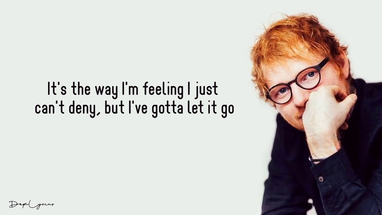 Ed Sheeran We Found Love Lyrics Youtube