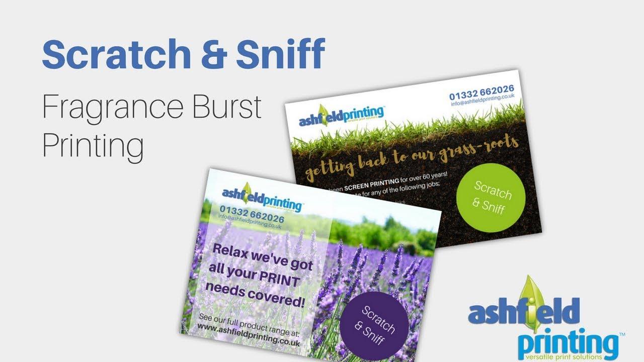 Adding aroma to print scratch sniff printing by ashfield youtube premium colourmoves