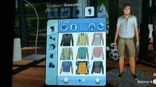 The Sims 3 Wii Gameplay Trailer