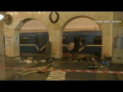Russian officials investigate subway blast as possible terrorist attack