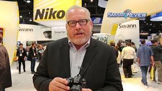 CES 2014   Nikon D3300 DSLR Demonstration   Latest Digital SLR   Smart Review