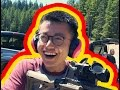 Shooting guns for the first time - BEST REACTIONS!
