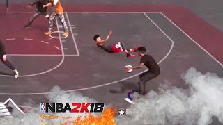 INSTANT ANKLE BREAKER BEST DRIBBLE MOVES IN NBA 2K18🔥 CHEESY DRIBBLE COMBOS UNSTOPPABLE!