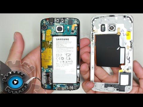 Samsung Galaxy S6 Edge Rahmen wechseln unter 2 Minuten reparieren [Deutsch/German]