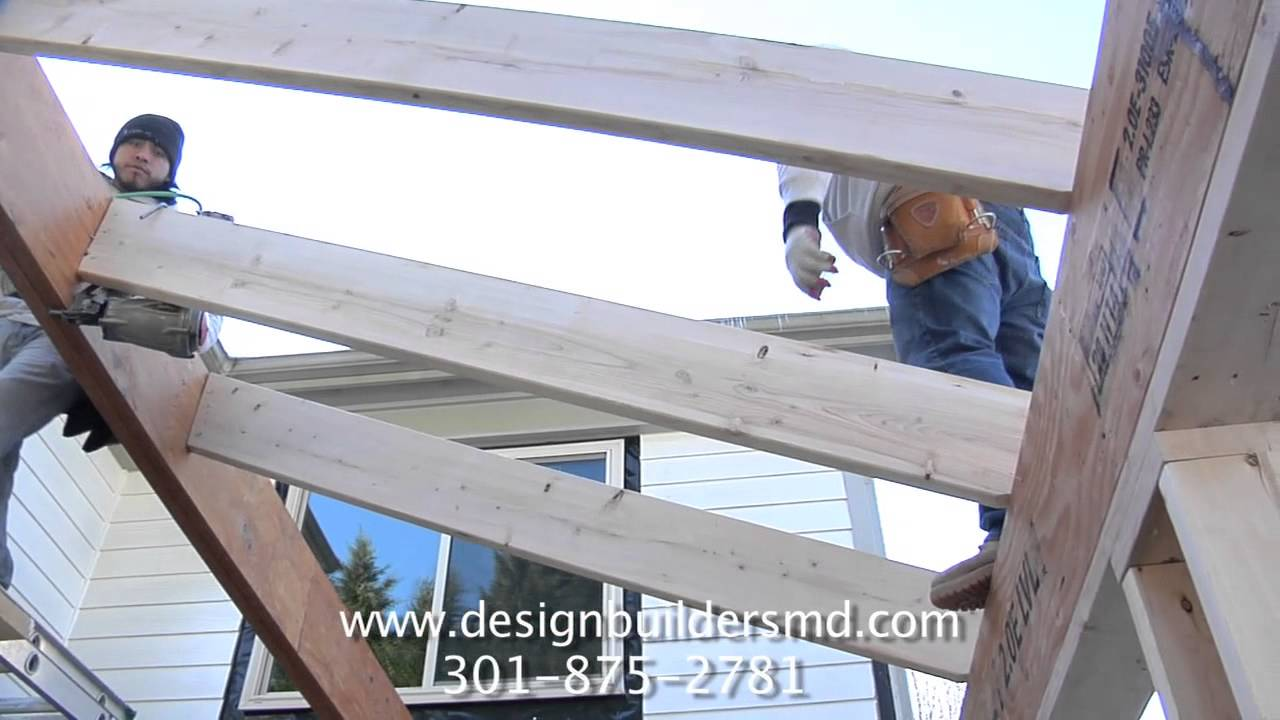 Components Of A Cathedral Roof Frame Youtube