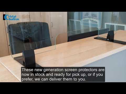 Glass Protective Screen Tenerife (Covid-19)