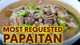 THE MOST REQUESTED PAPAITAN USING BEEF