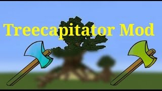 Minecraft PE 0.14.0 - Treecapitator Mod - Quebre Todas As Árvores Com Uma Machadada!!! (+DOWNLOAD)