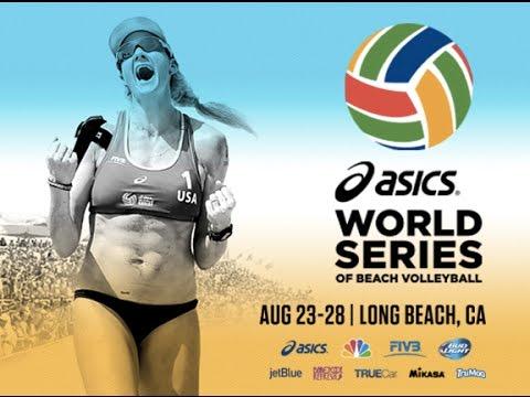 2016 ASICS WSOBV Long Beach Womens Semi Final Fernandez & Baquerizo ESP vs. Holtwick & Semmler GER