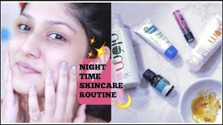 MY NIGHT TIME SKINCARE ROUTINE | Manasi Mau