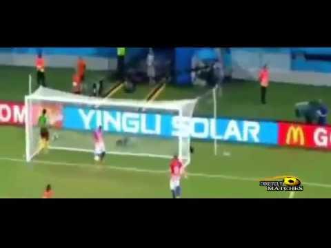 World Cup 2014 - Match 20- Croatia Vs Cameroon (4-0) Group A 18.06.14