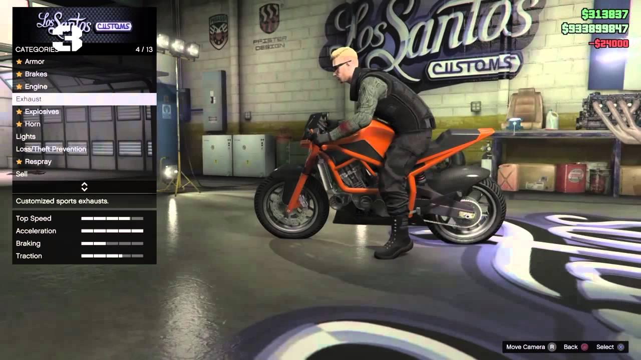 GTA V Online : Motor yang bagus buat touring - YouTube