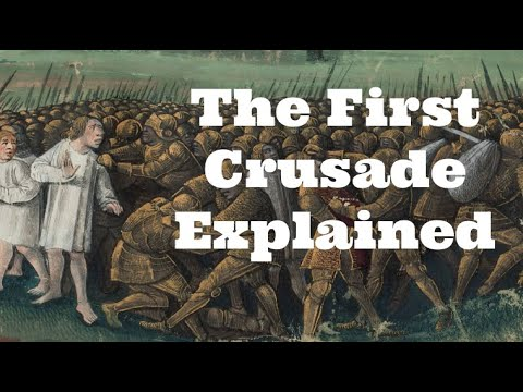The description of the crusades that started in 1096 and its impact on the world