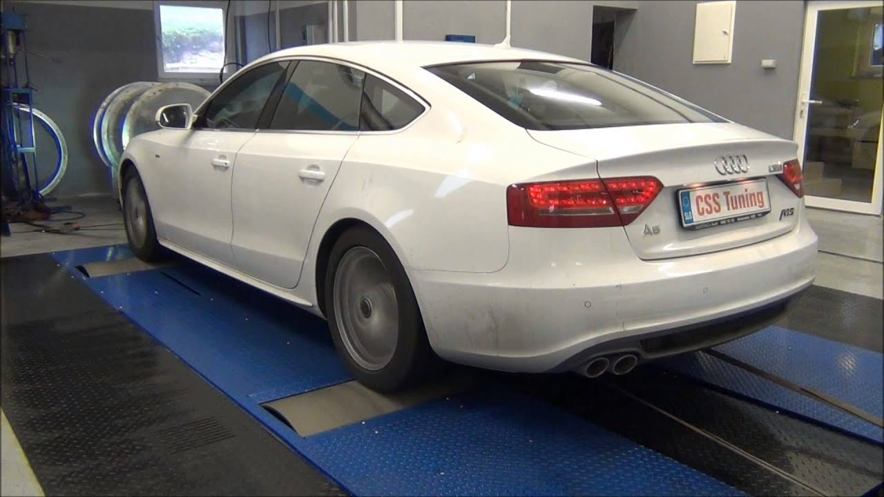 css performance audi a5 2 0 tdi 170 hp youtube. Black Bedroom Furniture Sets. Home Design Ideas