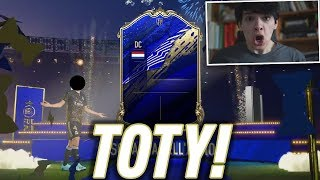 HO TROVATO UN TOTY! (FINALMENTE) - FIFA 20 TOTY PACK OPENING!