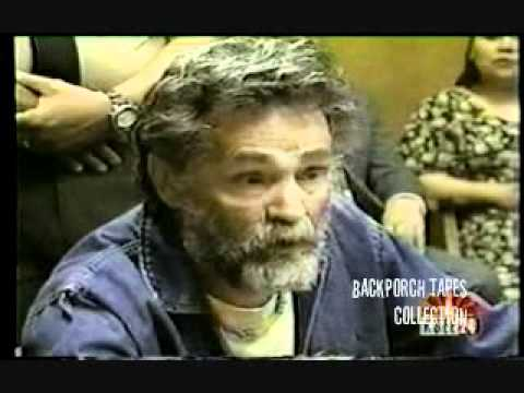 PAROLE Hearing (news) Charles Manson Corcoran State Prison 1997 Backporch Tapes Collections