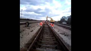 Кап.ремонт пути на ж\д станции Мууга(, 2012-11-08T09:21:04.000Z)