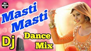 Masti Masti | Hindi Dj Remix Song | Govinda Dance Special | Old Is Gold | Bass Mix | DjMusicX |